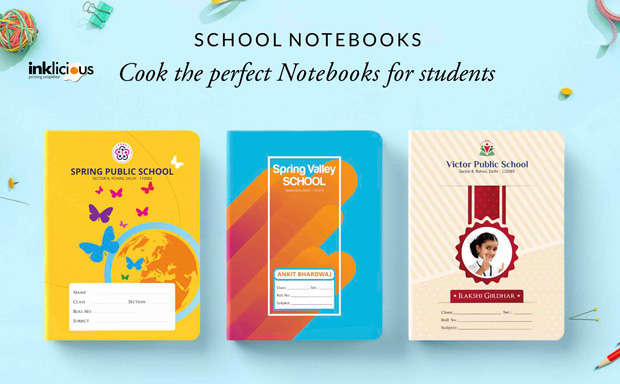 School Notebooks Shop iNK